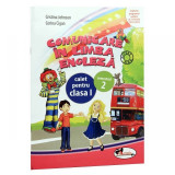 Comunicare in limba engleza. Caiet clasa I, sem. II