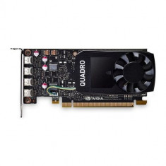 Placa video profesionala PNY NVIDIA Quadro P620, 2GB, GDDR5, 128-bit, Low Profile 4x mDP to DVI-D