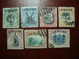 LABUAN 1894/1900, Stampilat