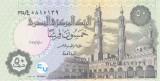 Bancnota Egipt 50 Piastri 1.10.2017 - P70 UNC