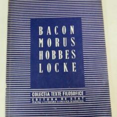 BACON.MORUS.HOBBES.LOCKE 1951