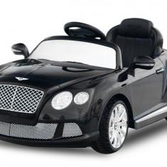 Masinuta electrica pentru copii Bentley Continental GTC 2x 30W 12V #Negru