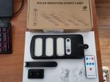 Lampa solara 213 led-uri cu senzor de miscare telecomanda panou solar