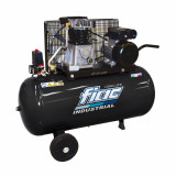 Compresor Fiac Long Life 100L 3Hp 1340 rpm debit de aer 330L/min - AB100/348