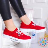 Pantofi sport Runcina rosii -rl