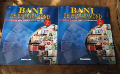 Reviste Bani de pe mapamond Deagostini colectia completa biblioraft foto