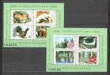 Romania.1986 Colaborarea cultural-economica-bloc  HR.496, Nestampilat