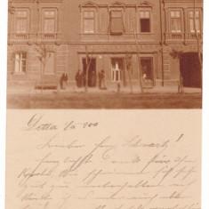 4354 - DETTA, Timis, Store, Romania, litho - old postcard - used - 1900, Circulata, Printata