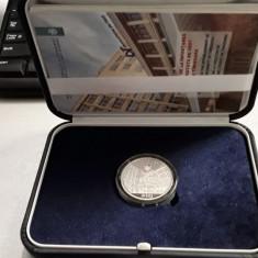 Moneda argint 75 de ani de la înființarea Universității din Timisoara