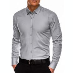 Camasa regular fit barbati K505 - gri