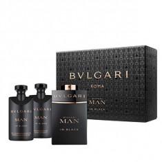 Bvlgari Bvlgari Man In Black Set 60+40+40 pentru barbati