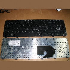 Tastatura laptop noua HP DV7-6000 Black Frame Black(Big Enter) US