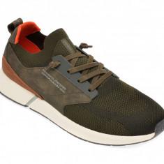 Pantofi sport BUGATTI kaki, 92761, din material textil