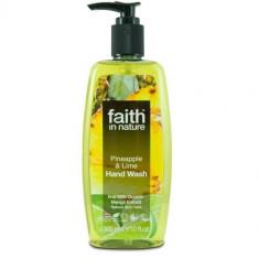 Sapun lichid cu ananas si lime, Faith in Nature, 300 ml