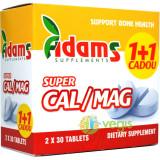 Super Calciu (1000mg) Magneziu (500mg) 30tb Pachet 1+1 CADOU