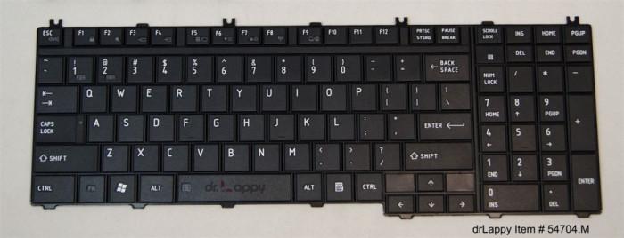 Tastatura Laptop Toshiba Satellite A505 sh
