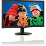 Monitor Philips LED 203V5LSB26/10 19.5 inch Black