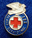 Insigna Donator Onorific - CRUCEA ROSIE Medicina Sanitare Donator de sange #13