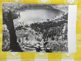 Tusnad - lacul Sfanta Ana - CP circulata 1965, Fotografie