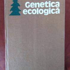 GENETICA ECOLOGICA - VALERIU ENESCU