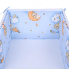 Set 2 aparatoare laterale patut Teddy Bear Blue 006