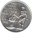 Ungaria 500 Forint 1989 (Olympic Games) Argint 28g/900, Aoc1 KM-671 UNC !!!