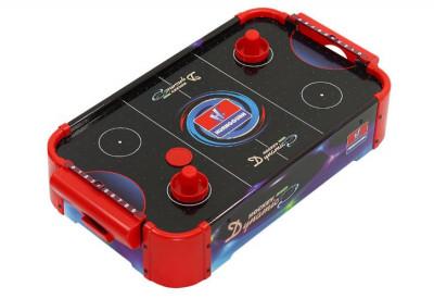 Masa joc Mini Air Hockey, 56 x 31 x 14 cm foto