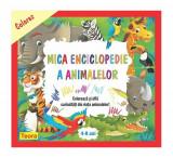 Colorez mica enciclopedie a animalelor 4-8 ani