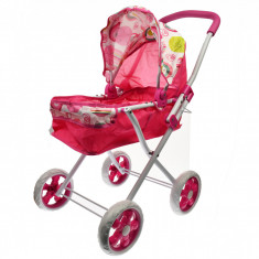 Carucior de jucarie pentru papusi, roz - 81661