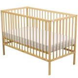Patut din lemn Maks 120x60 cm natur, BabyNeeds
