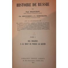 HISTOIRE DE RUSSIE - PAUL MILIOUKOV
