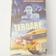 Caseta video VHS originala film tradus Ro - Teroare in Autobuzul Scolar