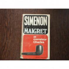 MAIGRET ET MONSIEUR CHARLES - SIMENON
