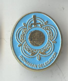 Insigna militara Romanian Delegation - Romania