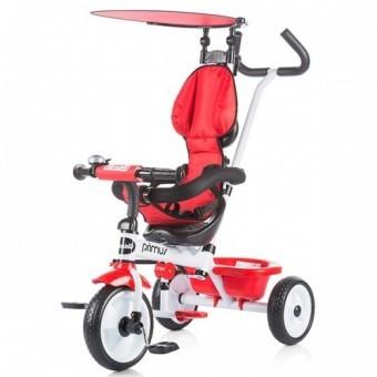 Tricicleta copii 1.5-3 Ani Chipolino Primus Red foto