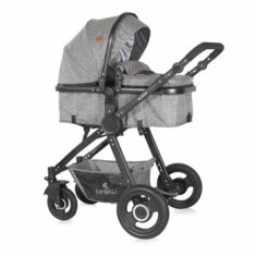 Carucior transformabil 3 in 1, Alexa, Dark Grey
