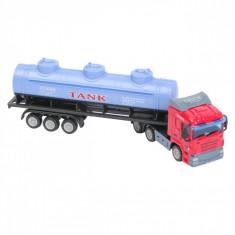 Camion de jucari in miniatura, 26x6x9cm, scara 1:64, multicolor