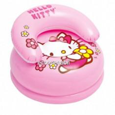 Fotoliu Gonflabil Copii Intex 48508 Hello Kitty