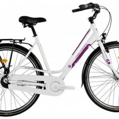 Bicicleta Oras Devron Urbio LC2.8 M 520mm Ivory White 28