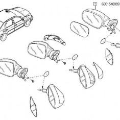 Oglinda Exterior Manuala Stanga Cu Cablu Tip Vechi Logan Renault 6001546989