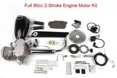 Kit Motor Bicicleta Complet 80cc Modelul Nou Calitatea 1 foto
