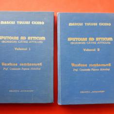EPISTOLAE AD ATTICUM Scrisori catre Atticus × Marcus Tullius Cicero 2 volume