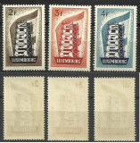 SERIE LUXEMBOURG--EUROPA CEPT --1956 MNH --, Nestampilat