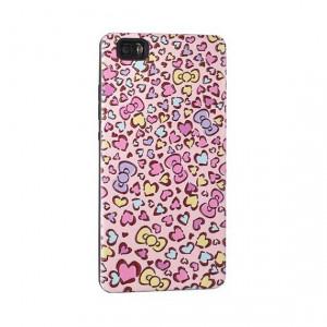 Husa capac 3d heart huawei p10 lite roz