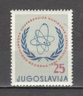 Iugoslavia.1961 Conferinta internationala ptr. electronica nucleara  SI.293 foto