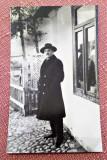 Portret de barbat - Fotografie veche tip carte postala