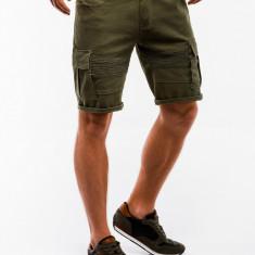 Pantaloni scurti barbati - W133-verde