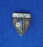 Insigna Alpinist RPR - floare de colt