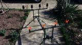 Kit complet Rod pod - Suport - Rodpod FL pentru 4 lansete de Crap + 4 Avertizori