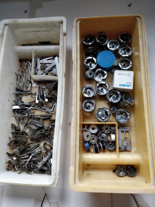 Graifere si cutite pentru masini de cusut